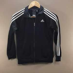 4/$30 ADIDAS CLIMALITE Zip Up Jacket Youth Small